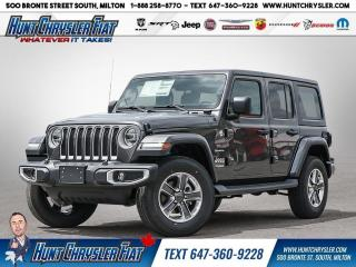 New 2021 Jeep Wrangler for sale in Milton, ON