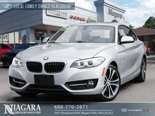 Used 2015 BMW 2 Series 228i for sale in Niagara Falls, ON