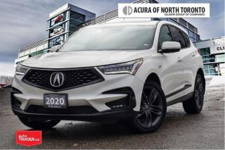 Used 2020 Acura RDX SH-AWD A-Spec at No Accident| 7Yrs Warranty Inc| A for sale in Thornhill, ON