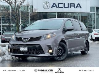 Used 2020 Toyota Sienna SE 8-Passenger V6 for sale in Markham, ON