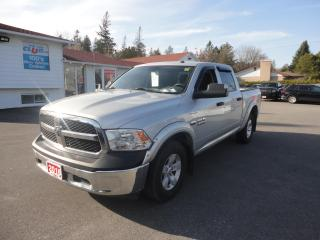 Used 2016 RAM 1500 4WD Crew Cab 140.5  w/ Reverse Camera for sale in Ottawa, ON