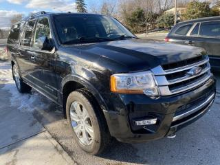 Used 2017 Ford Expedition Max 4WD 4dr Platinum . EL for sale in Toronto, ON