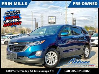 Used 2019 Chevrolet Equinox LT  LOW KM|HEATED SEATS|REAR CAM|RMT STRT| for sale in Mississauga, ON