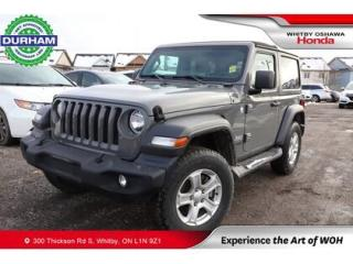 Used 2018 Jeep Wrangler Sport S 4x4 for sale in Whitby, ON