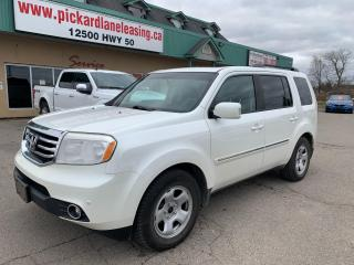 Used 2012 Honda Pilot Touring ACCIDENT FREE! | 1 OWNER! ONTARIO VEHICLE! for sale in Bolton, ON