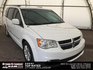 Used 2016 Dodge Grand Caravan Crew REAR CLIMATE CONTROLS, POWER WINDOW GROUP, POWER DRIVERS SEAT for sale in Ottawa, ON