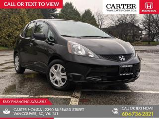 Used 2010 Honda Fit DX-A LOW KMS + AIR CONDITIONING + POWER WINDOWS for sale in Vancouver, BC