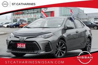 Used 2018 Toyota Corolla SE Sunroof | 1 owner | Accident Free for sale in St. Catharines, ON