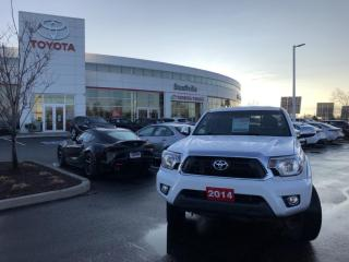 Used 2014 Toyota Tacoma V6 LIMITED PACKAGE - SIDE STEPS - HARD TONNEAU COVER - AFTERMARKET REMOTE STARTER for sale in Stouffville, ON