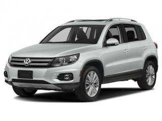 Used 2016 Volkswagen Tiguan Comfortline LEATHER|MOONROOF| for sale in Newmarket, ON