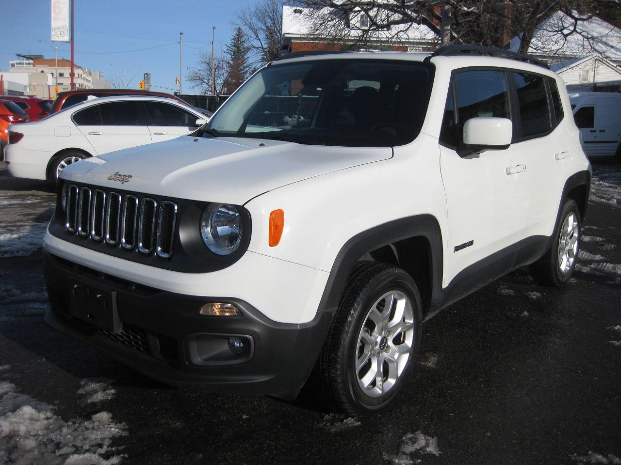2015 Jeep Renegade North 4X4 Rev Cam AC Htd Seat PL PM PW