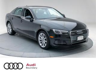 Used 2017 Audi A4 2.0T Progressiv quattro 7sp S tronic for sale in Burnaby, BC