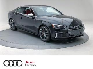 Used 2019 Audi S5 3.0T Progressiv quattro 8sp Tiptronic Cpe for sale in Burnaby, BC