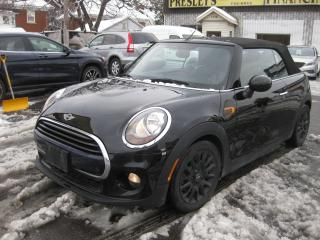Used 2017 MINI Cooper Convertible CONVERTIBLE Htd Seats Nav Bluetooth for sale in Ottawa, ON