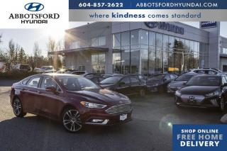 Used 2018 Ford Fusion Titanium  - Leather Seats -  Bluetooth - $142 B/W for sale in Abbotsford, BC