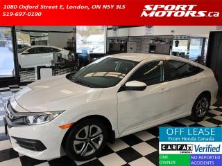 Used 2018 Honda Civic LX+Apple Play+Camera+Heated Seats+ACCIDENT FREE for sale in London, ON