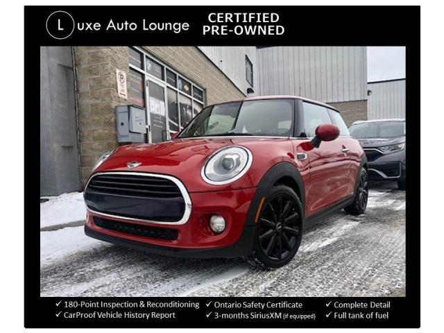 2016 MINI Cooper HATCHBACK, SUNROOF, LEATHER, HEATED SEATS!!