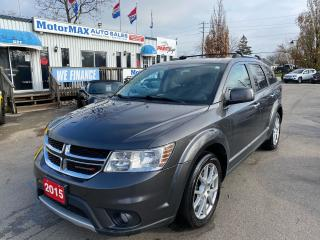 Used 2015 Dodge Journey R/T-AWD-7PASS-ACCIDENT FREE for sale in Stoney Creek, ON
