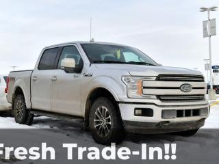 Used 2018 Ford F-150 LARIAT SUPERCREW 4X4 5.0L V8 for sale in Red Deer, AB