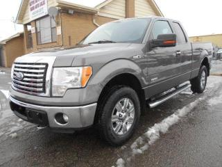 Used 2011 Ford F-150 XLT XTR 4X4 3.5L Eco Boost Extended Cab 6.5Ft Box for sale in Rexdale, ON