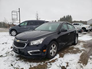 Used 2015 Chevrolet Cruze 2LT for sale in Dundalk, ON