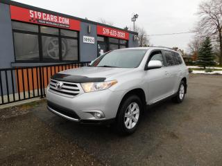 Used 2012 Toyota Highlander V6 for sale in St. Thomas, ON