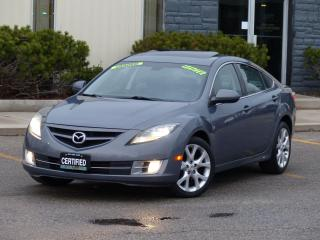 Used 2009 Mazda MAZDA6 LEATHER,GT,V6,BLIND SPOT DETECTION,NO-ACCIDENT. for sale in Mississauga, ON