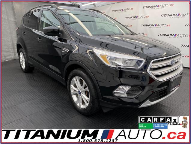 2018 Ford Escape SE+AWD+GPS+Pano Roof+Blind Spot+Lane Assist+Radar