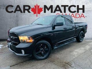Used 2018 RAM 1500 EXPRESS / 4X4 / V8 / NO ACCIDENTS for sale in Cambridge, ON