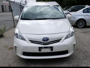 Used 2014 Toyota Prius V Leather/Navigation/Camera for sale in Winnipeg, MB