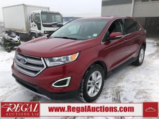 Used 2018 Ford Edge SEL 4D Utility AWD 3.5L for sale in Calgary, AB
