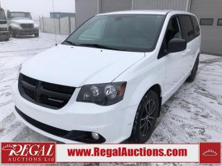 Used 2018 Dodge Grand Caravan SXT 4D Wagon 3.6L for sale in Calgary, AB
