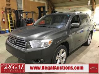 Used 2008 Toyota Highlander Limited 4D Utility V6 AWD for sale in Calgary, AB
