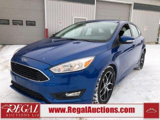 Used 2018 Ford Focus SE 4D Hatchback 2.0L for sale in Calgary, AB