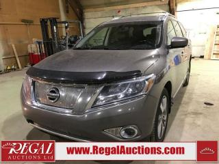 Used 2014 Nissan Pathfinder Platinum 4D UTILITY  4WD for sale in Calgary, AB