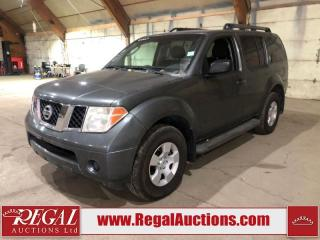 Used 2007 Nissan Pathfinder 4D Utility 4WD for sale in Calgary, AB
