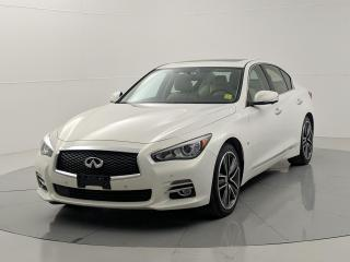 Used 2015 Infiniti Q50 4dr Sdn AWD Limited Edition | Navigation | Remote Start |  Backup Camera for sale in Winnipeg, MB