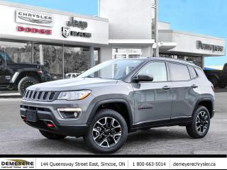 New 2021 Jeep Compass Trailhawk for sale in Simcoe, ON