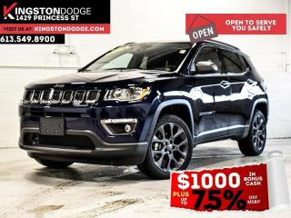 New 2021 Jeep Compass 80th Anniversary Edition | Tow | Leather | Power L for sale in Kingston, ON