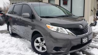 Used 2012 Toyota Sienna LE FWD 8-Passenger V6 -BACK-UP CAM! BLUETOOTH! PWR SLIDING DOORS! for sale in Kitchener, ON