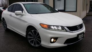 Used 2013 Honda Accord EX-L V6 Coupe AT - LEATHER! NAV! BACK-UP/BLIND-SPOT CAM! for sale in Kitchener, ON