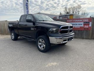 Used 2015 RAM 1500 Tradesman Quad Cab 4WD for sale in Brantford, ON