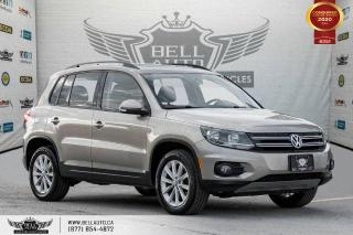 Used 2015 Volkswagen Tiguan Highline, AWD, PANO, LEATHER, REAR CAM, P. ASSIST. for sale in Toronto, ON