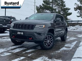 Used 2018 Jeep Grand Cherokee Trailhawk 4x4 -Ltd Avail- | Pano | Navi | Leather for sale in Waterloo, ON