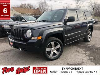 Used 2016 Jeep Patriot High Altitude | 4WD | Leather | Nav | Sunroof | Ne for sale in St Catharines, ON