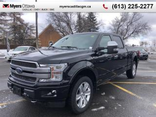 Used 2018 Ford F-150 Platinum  PLATINUM CREW, 3.5 ECOBOOST, NAV, SUNROOF, LOADED for sale in Ottawa, ON