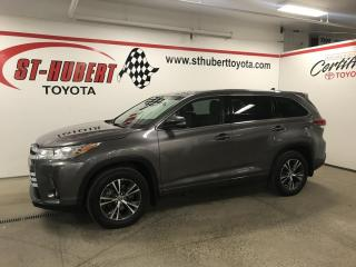 Used 2018 Toyota Highlander LE Plus V6 AWD (Natl) for sale in St-Hubert, QC
