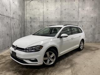 Used 2019 Volkswagen Golf Sportwagen COMFORTLINE DSG 4MOTION APPLECAR PLAY for sale in St-Nicolas, QC