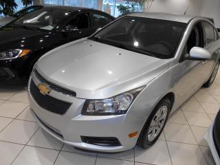 Used 2012 Chevrolet Cruze LT ** UN PROPRIETAIRE, PAS ACCIDENTE,TRE for sale in Montréal, QC