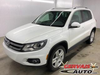 Used 2016 Volkswagen Tiguan Comfortline 4Motion AWD Cuir Toit Panoramique Mags *Appearance Package* for sale in Shawinigan, QC